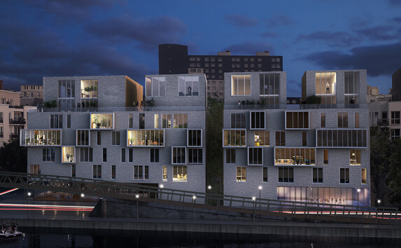 Immobilier Pantin - concours architecture - Maud Caubet Architectures