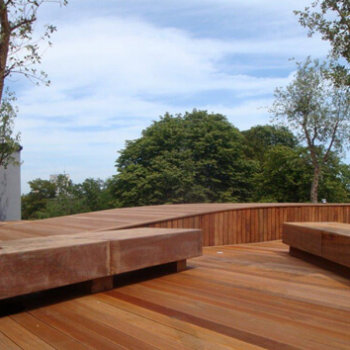 Architecte terrasse bois - architecte bruxelles - Maud Caubet Architectes