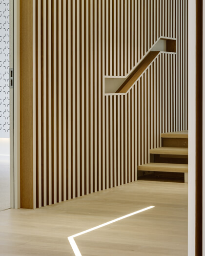 Escalier François 1er - Escalier bois - Maud Caubet Architectes