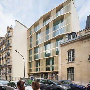 Architecte facade - architecture paris - Maud Caubet Architectes