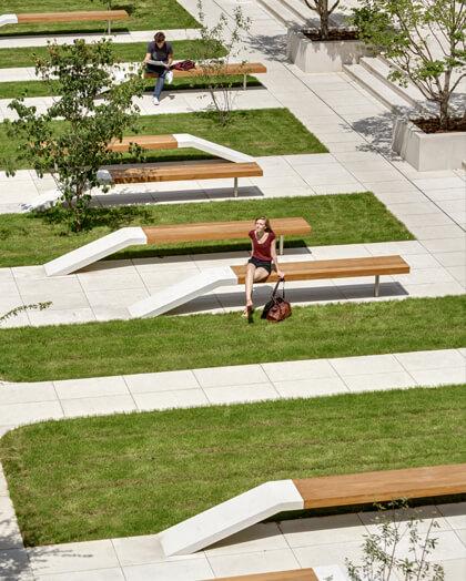 Jardin tivoli - aménagement espace vert paris - Maud Caubet Architectes